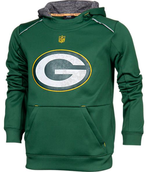 Kids' Nike Green Bay Packers NFL Pinnacle Hoodie