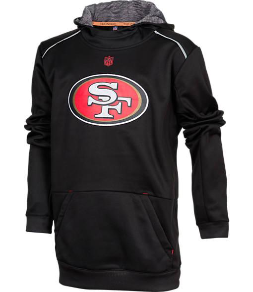 Kids' Nike San Francisco 49ers NFL Pinnacle Hoodie