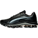 Left view of Men's Puma Voltage SL Running Shoes in Black/Black