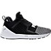 Right view of Men's Puma Ignite Limitless Colorblock Casual Shoes in Puma Black/Puma White