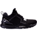 Right view of Boys' Grade School Puma Ignite Limitless Casual Shoes in Black/Black