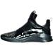 Left view of Women's Puma Fierce Metallic Training Shoes in Black