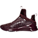 Left view of Women's Puma Fierce KRM Casual Shoes in Winetasting-Red Plum