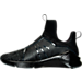 Left view of Women's Puma Fierce KRM Training Shoes in Puma Black-Dark Shadow