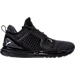 Right view of Men's Puma Ignite Limitless Knit Casual Shoes in Black/Black/Puma White