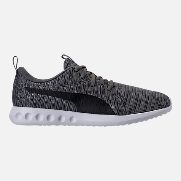 Right view of Men's Puma Carson 2 Casual Shoes in Quiet Shade/Puma Black
