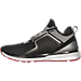 Left view of Men's Puma Ignite Limitless Hi Tech Casual Shoes in Black/Red