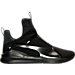 Right view of Men's Puma Fierce Casual Shoes in Puma Black