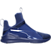 Right view of Women's Puma Fierce Knit Training Shoes in Blue