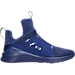 Left view of Women's Puma Fierce Knit Training Shoes in Blue
