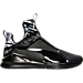 Right view of Women's Puma Fierce Swan Training Shoes in Black/Print