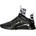 Left view of Women's Puma Fierce Swan Training Shoes in Black/Print