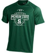 Men's Under Armour Michigan State Spartans College Shield T-Shirt