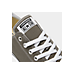 Front view of Men's Converse Chuck Taylor Low Top Casual Shoe in Charcoal