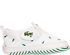Boys' Toddler Lacoste Gazon Crib Print Casual Shoes