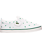 Boys' Toddler Lacoste Gazon Slip Print Casual Shoes