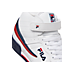 Front view of Men's Fila F-13V Casual Shoes in White/Footwear Navy/Footwear Red