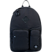 Front view of Parkland The Academy Backpack in Black