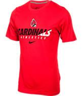 Men's Nike Ball State Cardinals College Legend Short-Sleeve Shirt