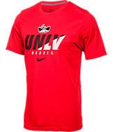 Men's Nike UNLV Runnin' Rebels College Legend Short-Sleeve Shirt