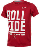 Kids' Nike Alabama Crimson Tide College Legend Wordmark T-Shirt