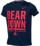 Kids' Nike Arizona Wildcats College Legend Wordmark T-Shirt