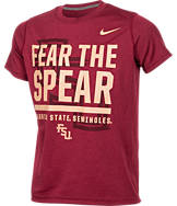 Kids' Nike Florida State Seminoles College Legend Wordmark T-Shirt