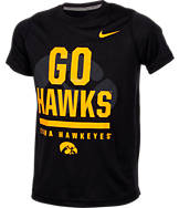 Kids' Nike Iowa Hawkeyes College Legend Wordmark T-Shirt