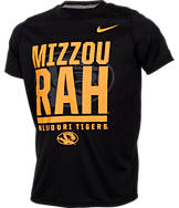 Kids' Nike Missouri Tigers College Legend Wordmark T-Shirt