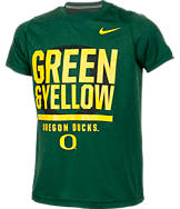 Kids' Nike Oregon Ducks College Legend Wordmark T-Shirt