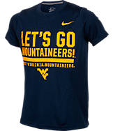 Kids' Nike West Virginia Mountaineers College Legend Wordmark T-Shirt