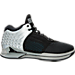 Right view of Men's BrandBlack J. Crossover 2 Basketball Shoes in Black/Silver