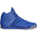 Right view of Men's BrandBlack J. Crossover 3 Basketball Shoes in Blue