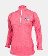 Women's Nike Houston Cougars College Heather Element Quarter-Zip Shirt
