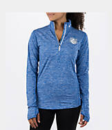 Women's Nike St. Louis Billikens College Heather Element Quarter-Zip Shirt