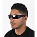 Back view of Oakley Gascan Sunglasses in Black Iridium/Matte Black