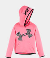 Girls' Preschool Under Armour Printed Big Logo Hoodie