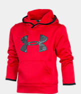 Boys' Preschool Under Armour Printed Big Logo Hoodie