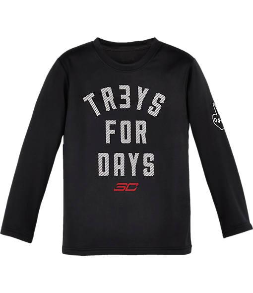 Boys' Preschool Under Armour SC30 Tr3ys For Days T-Shirt