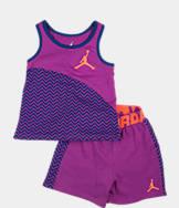 Girls' Toddler Nike Chevron Shorts Set