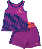 Girls' Toddler Nike Chevron Shorts Set