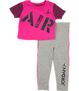 Girls' Toddler Box T-Shirt and Leggings Set