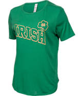 Women's Under Armour Notre Dame Fighting Irish College Irish T-Shirt