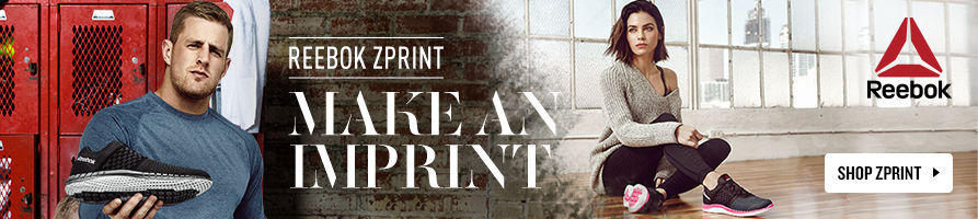 Reebok ZPrint: Make an imprint. Shop Now.