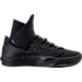 Right view of Men's BrandBlack Future Legend Basketball Shoes in Black