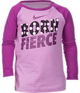 Girls' Toddler Nike Born Fierce Long-Sleeve T-Shirt