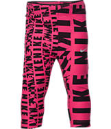 Girls' Toddler Nike Club Allover Print Capris