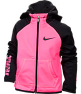 Girls' Toddler Nike Therma Full-Zip Hoodie