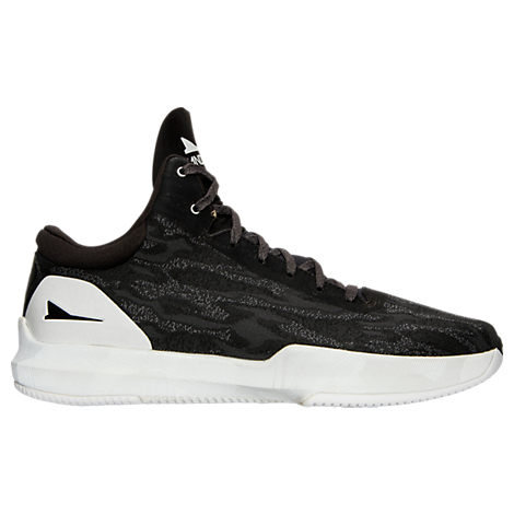 Men's BrandBlack Rare Metal Thunder Basketball Shoes