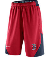 Men's Nike Boston Red Sox MLB Authentic Dri-FIT Fly Training Shorts
